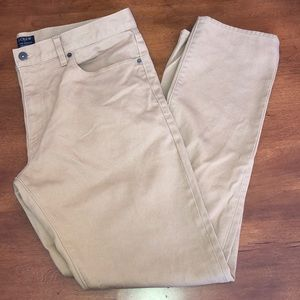 J Crew The Driggs Khaki Pants 35x32